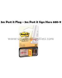 3M POST IT 680-9 SIGN HERE