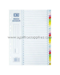 PAPER SUBJECT PAPER COLOUR INDEX  (A to Z)