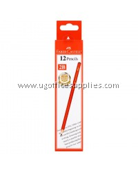 FABER CASTELL 1323 2B PENCIL 12's