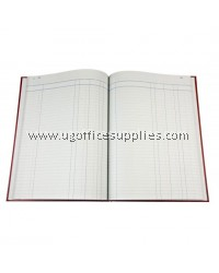 HARD COVER BOOK FOOLSCAP 3 COLUMNS (120 PAGES)