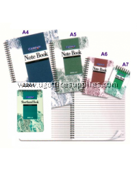 CAMPAP CW2203 WRITE-ON SPIRAL NOTE BOOK A5 (50 PAGES)