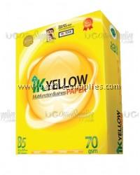 IK Yellow B5 Paper 70gsm (900's)
