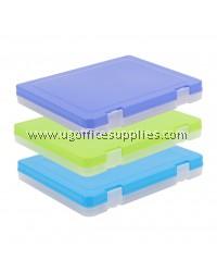 PLASTIC DOCUMENT CASE 40MM (A4)