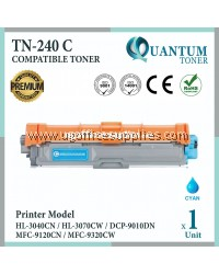 Brother TN-240 / TN240 / TN-240C CY High Quality Compatible Colour Laser Toner Cyan Cartridge For Brother HL-3040CN / HL-3070CW / DCP-9010CN / MFC-9120CN / MFC-9320CW Printer Ink