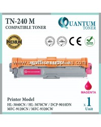 Brother TN-240 / TN240 / TN-240M MG High Quality Compatible Colour Laser Toner Magenta Cartridge For Brother HL-3040CN / HL-3070CW / DCP-9010CN / MFC-9120CN / MFC-9320CW Printer Ink