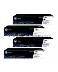 ( GENUINE ) 100% ORIGINAL HP 119A ( W2090A / W2091A / W2092A / W2093A ) Color Toner CMYK Cartridge For HP Color Laser 150 / Laser MFP 170 Printer