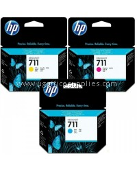 HP 711 Ink Cartridge (3 Colour Options)