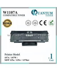 HP 107A / W1107A High Quality Compatible Laser Toner Black Cartridge for HP 107A 107W MFP 135a 135w 137fnw Printer Ink