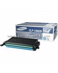 SAMSUNG CLP-C660B ORIGINAL CYAN TONER CARTRIDGE (CLP-C660B) - COMPATIBLE WITH SAMSUNG CLP-610