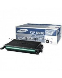 SAMSUNG CLP-K660B ORIGINAL BLACK TONER CARTRIDGE (CLP-K660B) - COMPATIBLE WITH SAMSUNG CLP-610
